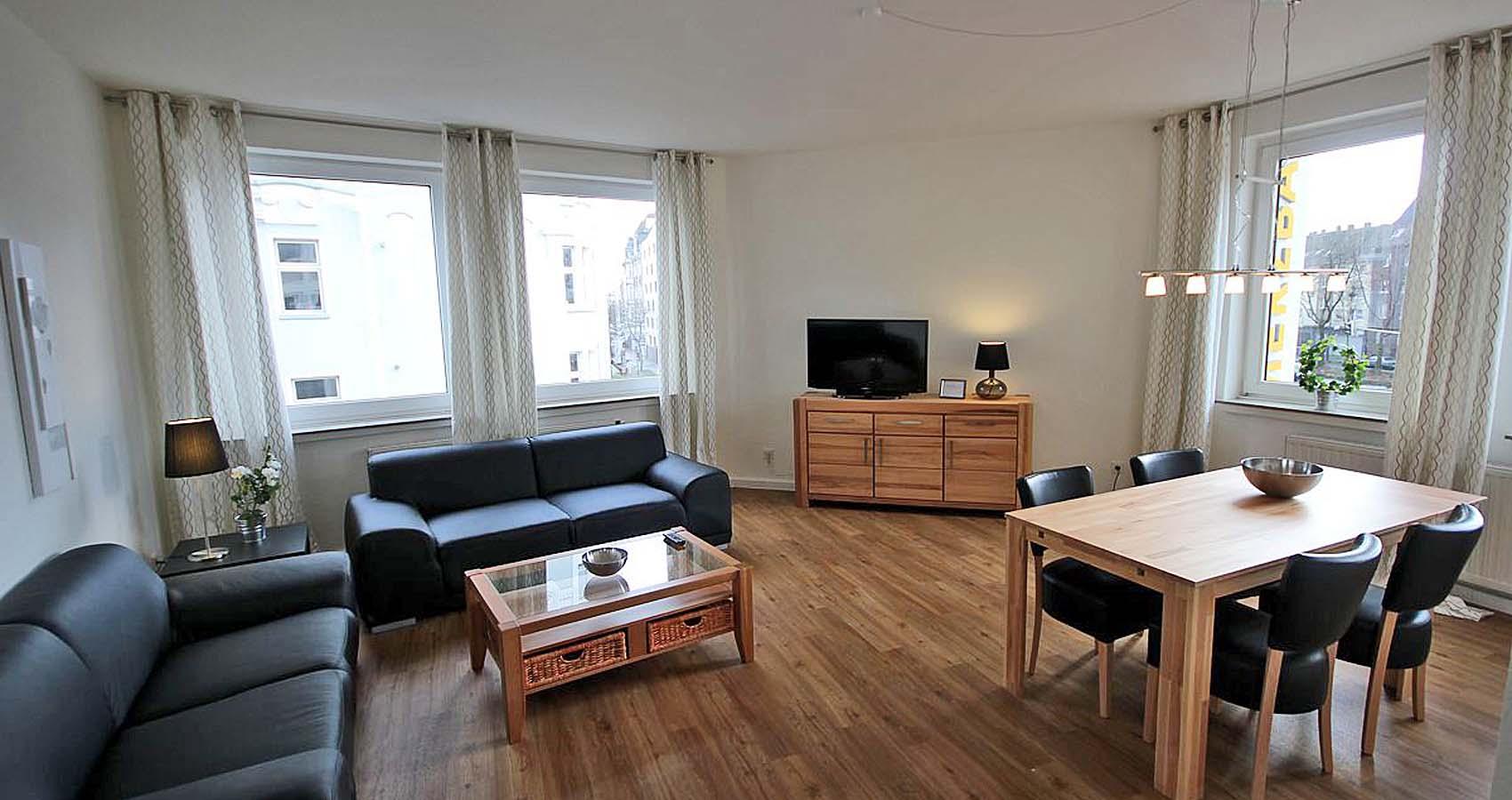 M nsterstra e 105 3 og rechts wohnen auf zeit in dortmund - Wohnzimmer dortmund ...