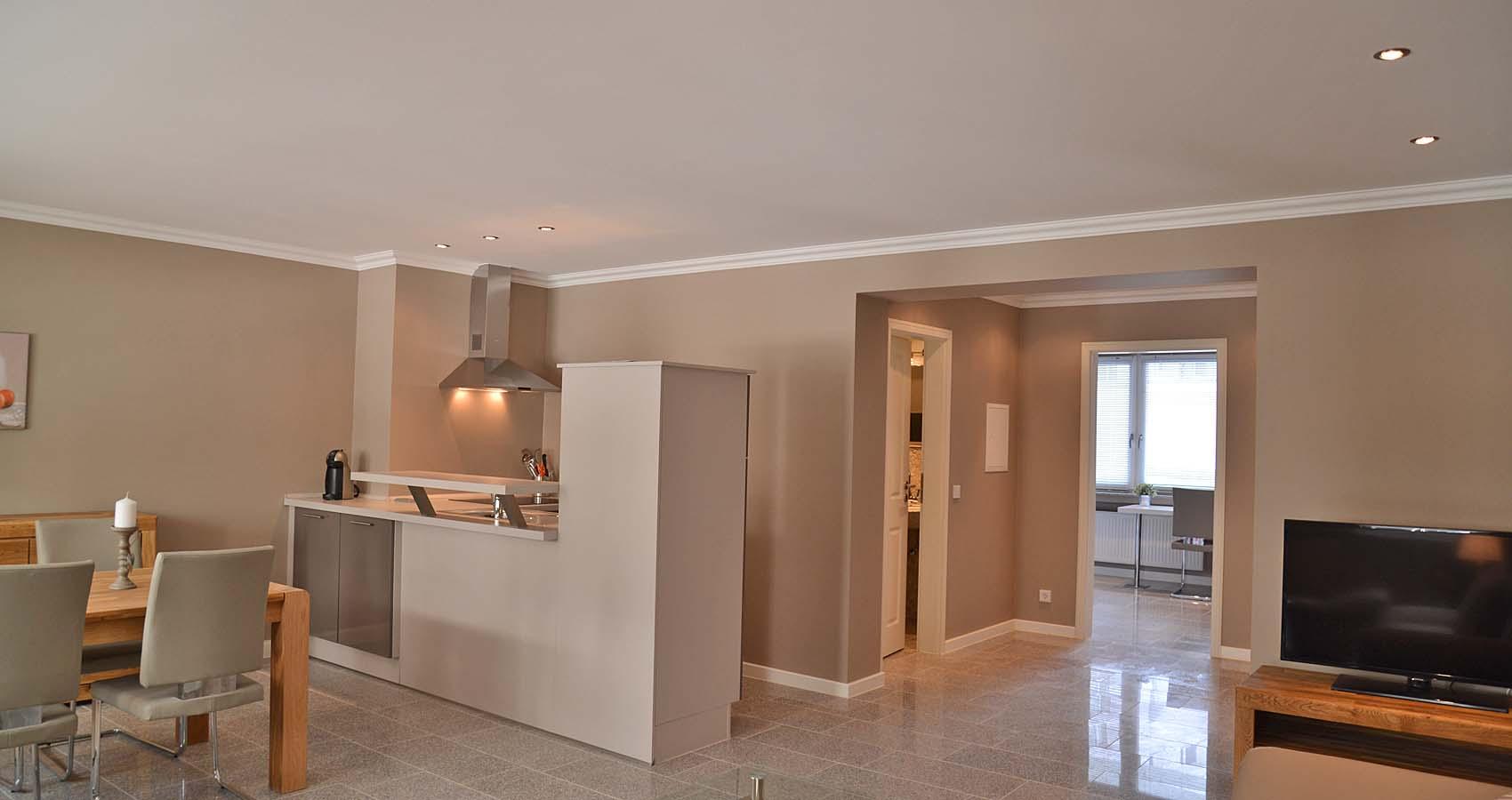 Offene Küche Esszimmer Wohnzimmer 30 Minuten Küche Nobilia