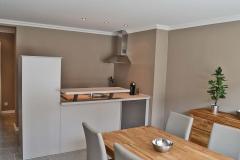 Wohn / Esszimmer / offene Küche
